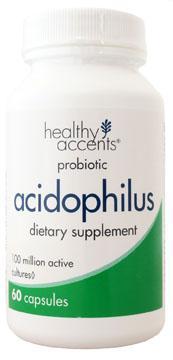 Healthy Accents Acidophilus Caplets