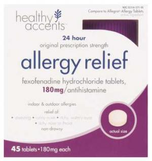Healthy Accents 24-hour Allergy Relief Tablets
