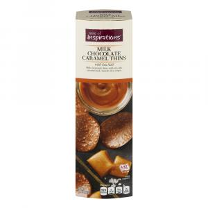 Taste of Inspirations Milk Caramel Thins with Sea Salt