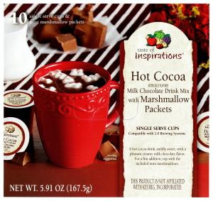 Taste of Inspirations Hot Cocoa with Marshmallows Singles