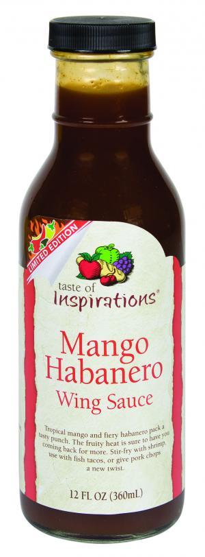 Taste Of Inspirations Mango Habanero Wing Sauce