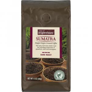 Taste of Inspirations Sumatra Single Origin Ground Coffee