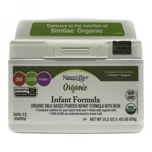 Nature's Place Organic Infant Formula With Iron
