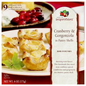 Taste Of Inspirations Cranberry & Gorgonzola In Pastry Shell