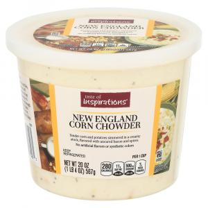 Taste Of Inspirations New England Corn Chowder