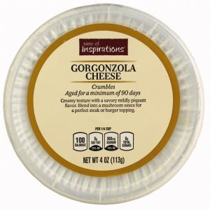 Taste Of Inspirations Crumbled Gorgonzola Cheese