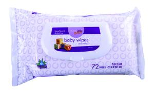 Home 360 Baby Unscented Baby Wipe Refill Flip Top