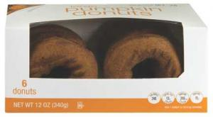Limited Edition Large Pumpkin Donuts