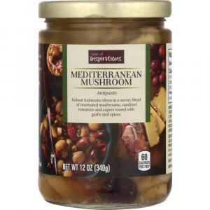 Taste of Inspirations Mediterranean Mushroom Antipasto