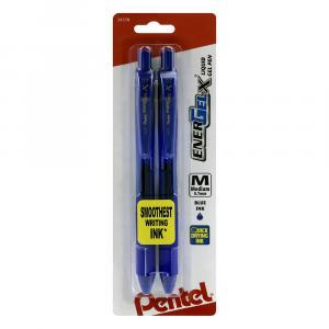 Pentel Energel Medium Blue Pens