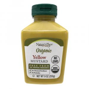 Nature's Place Organic Yellow Mustard