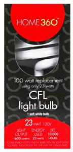Home 360 23-watt Cfl Bulb