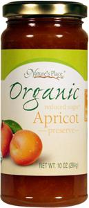 Nature's Place Organic Low Sugar Apricot Preserves