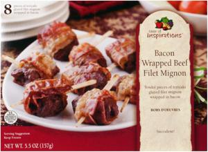 Taste Of Inspirations Bacon Wrapped Beef Filet Mignon