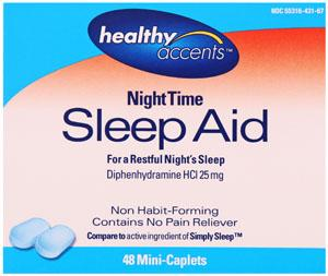 Healthy Accents Nighttime Sleep Aid