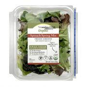 Nature's Place Organic Baby Spinach & Spring Mix