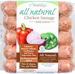 Nature's Place Italian Chicken Sausage