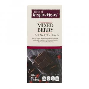 Taste of Inspirations Dark Chocolate Mixed Berry Bar