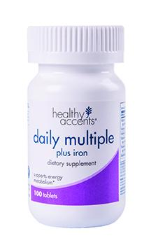 Healthy Accents Multivitamin With Iron