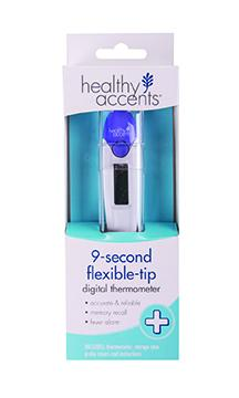 Healthy Accents Flex Tip Digital Thermometer
