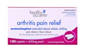 Healthy Accents Arthritis Pain Relief