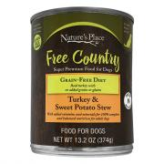 Nature's Place Turkey and Sweet Potato Wet Dog Food