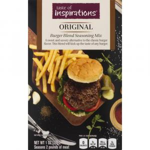 Taste of Inspirations Original Burger Blend
