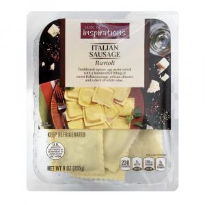Taste of Inspirations Italian Sausage Ravioli