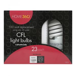 Home 360 23-watt Cfl Bulbs