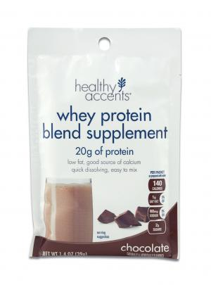 Healthy Accents Chocolate Protein Powder