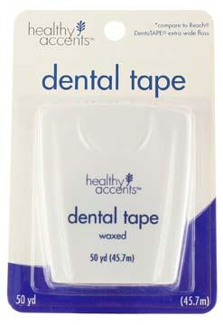 Healthy Accents Waxed Dental Tape