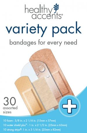 Healthy Accents Variety Pack Bandages