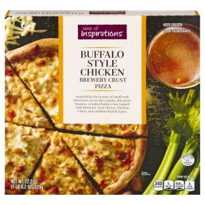 Taste of Inspirations Buffalo Style Chicken Pizza