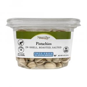 Nature's Place Roasted, Salted Pistachios In-Shell