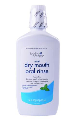 Healthy Accents Dry Mouth Oral Rinse Mint