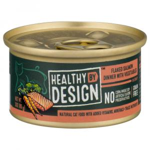 Healthy By Design Flaked Salmon Dinner in Gravy Cat Food