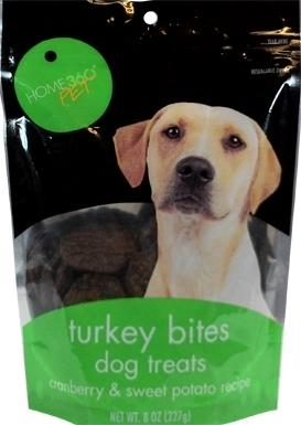 Home 360 Pet Turkey Bites Dog Treats