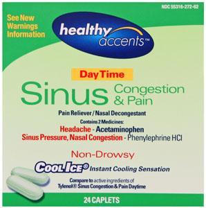 Healthy Accents Sinus Pe Caplets