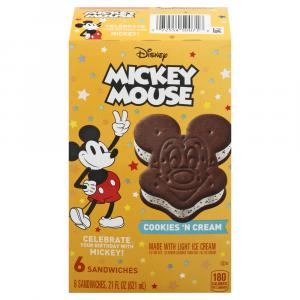 Nestle Mickey Cookies 'N Cream Sandwiches