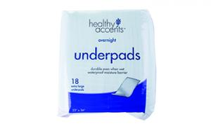 Healthy Accents Soft Large Underpads