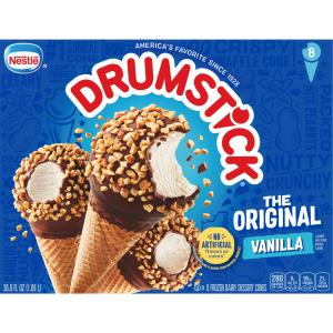 Nestle Drumstick Vanilla Ice Cream Cones