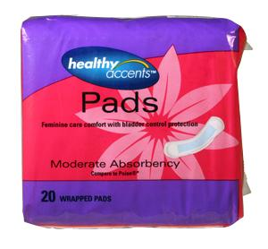 Healthy Accents Bladder Control Heavy Pads
