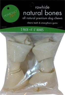 Home 360 Pet Natural Rawhide Bones