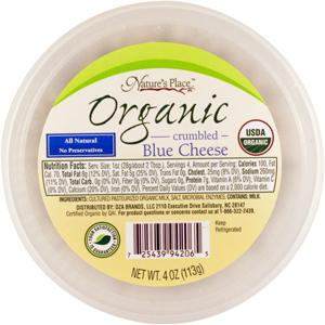 Nature's Place Organic Blue Cheese Crumbles