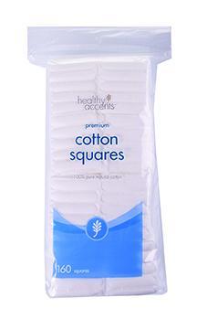 Healthy Accents Cotton Squares