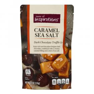 Taste Of Inspirations Dark Chocolate Caramel Truffles