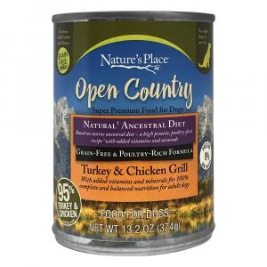Nature's Place 95% Chicken and Turkey Wet Dog Food