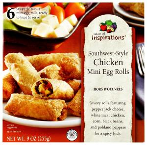 Taste Of Inspirations Southwest-style Chicken Mini Egg Rolls