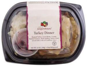 Taste Of Inspirations Roast Turkey Dinner