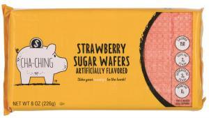 Cha-Ching Strawberry Sugar Wafers